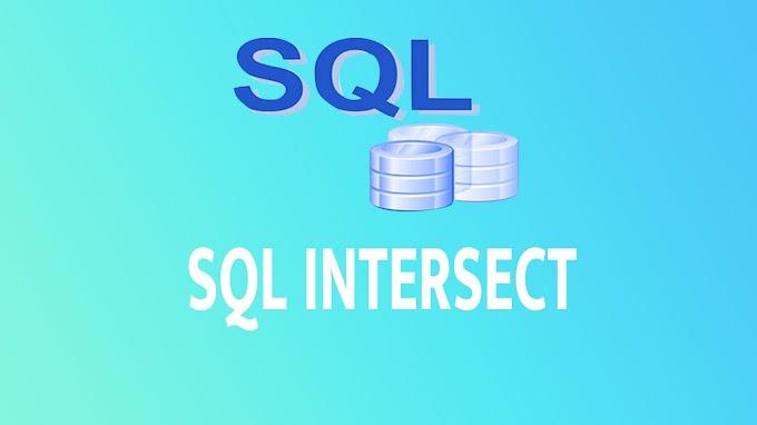 SQL INTERSECT