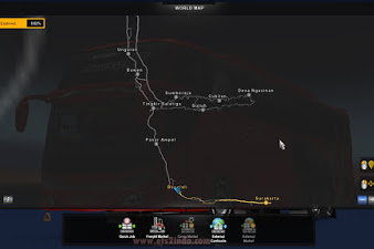 Map Ndesovania V2 Update Support ETS2 1.30- 1.38