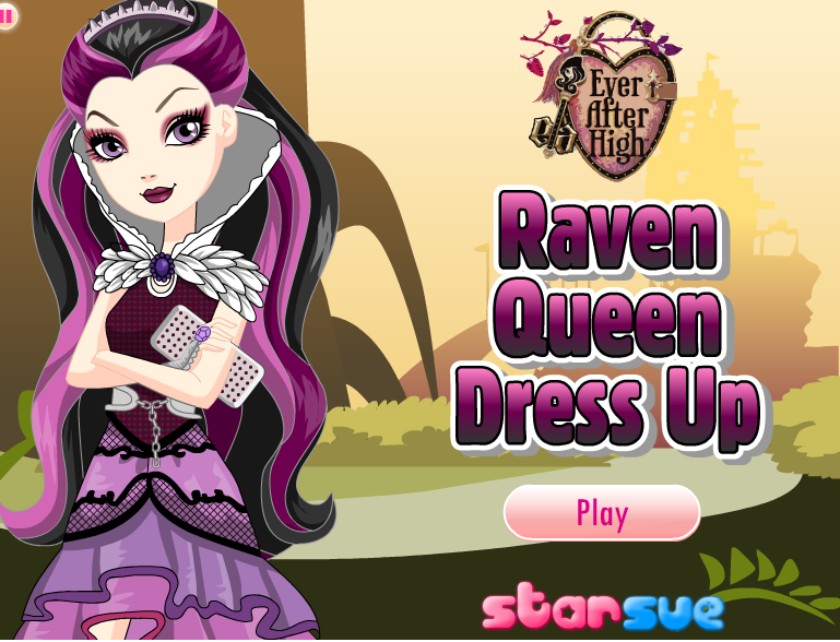 Manu E Monster High Game Vista Raven Queen