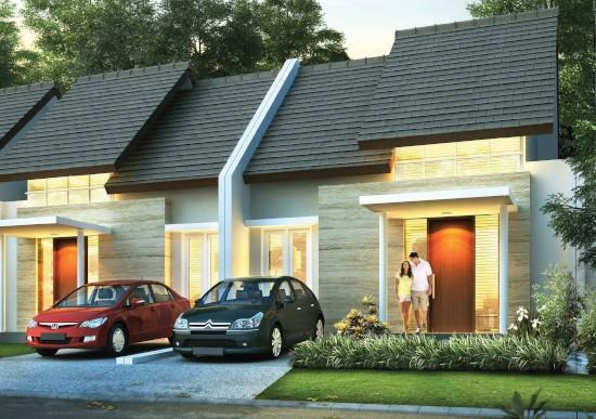desain rumah minimalis 7x17 2 kamar tidur 1 lantai