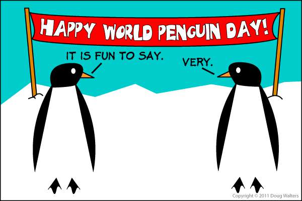 National Penguin Day Wishes pics free download