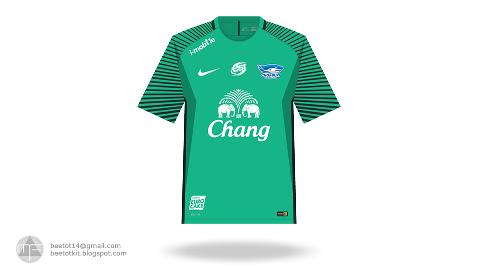 Beetot Kit: Chonburi FC Kit 2017