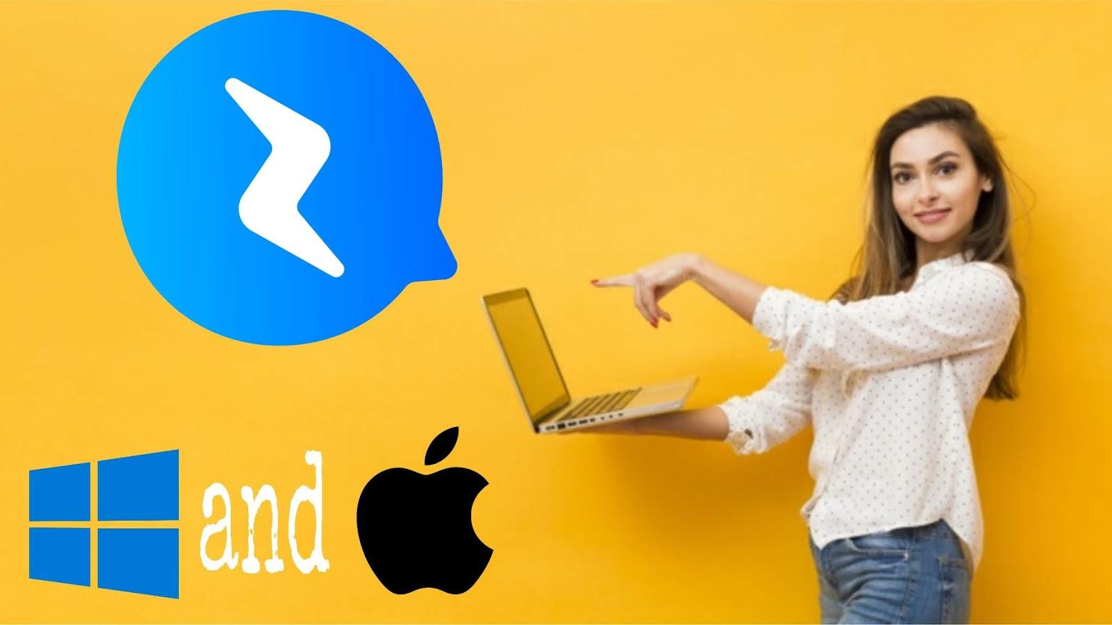 فيسبوك ماسانجر على الحاسوب