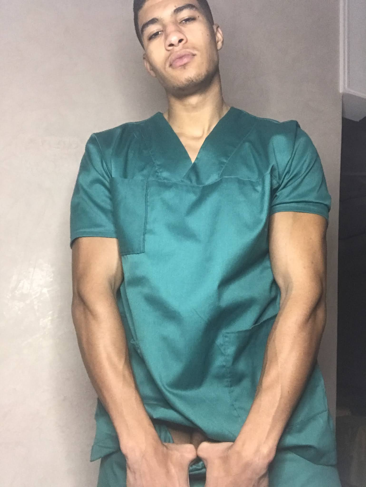 enfermero cachondo
