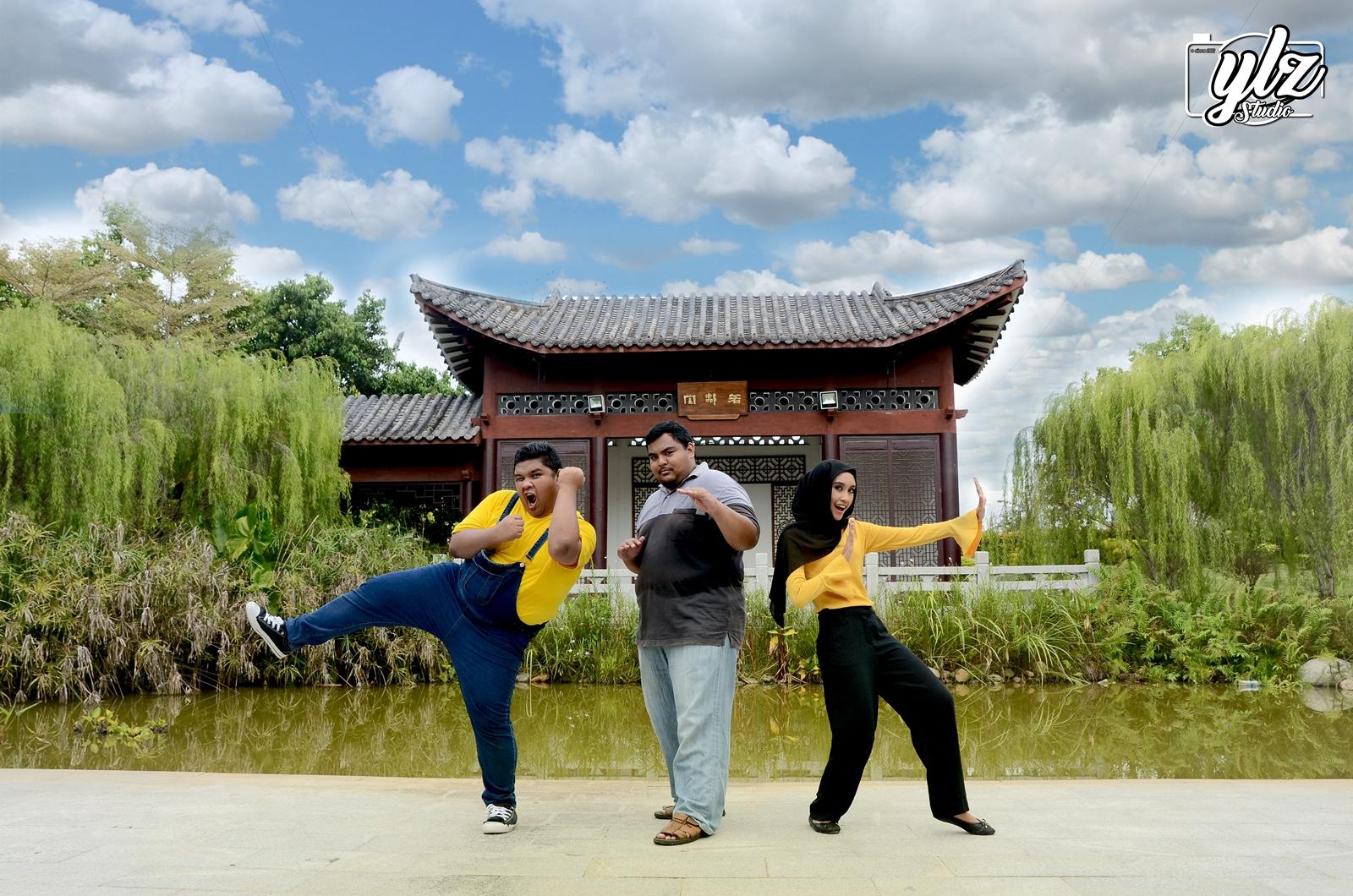 YLZ STUDIO X MOMI - Photoshoot Outdoor Bersama YLZ Studio Di Sekitar Putrajaya