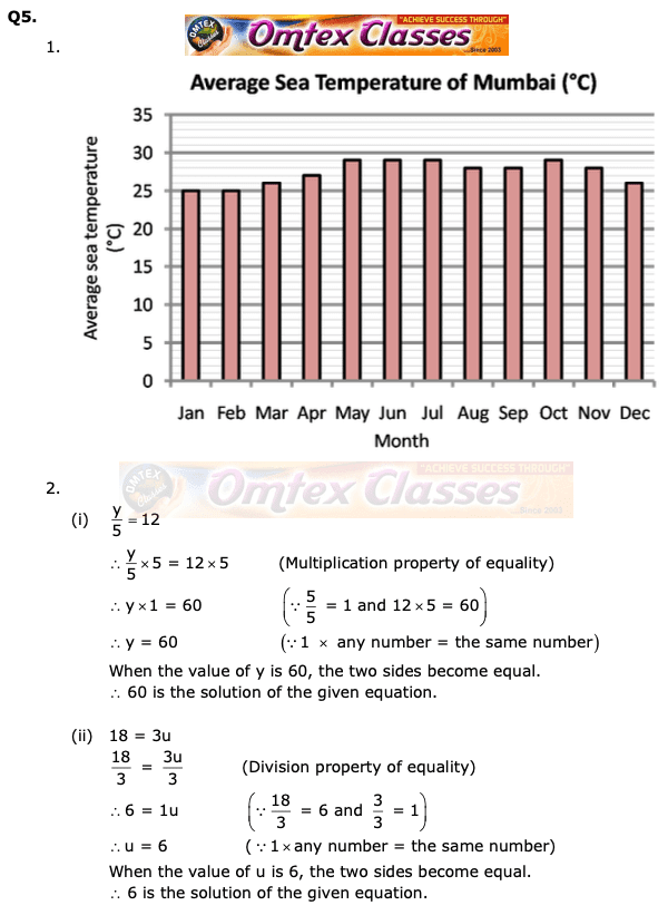 Class 6 Maths Board Question Papers  Board Question Paper 2