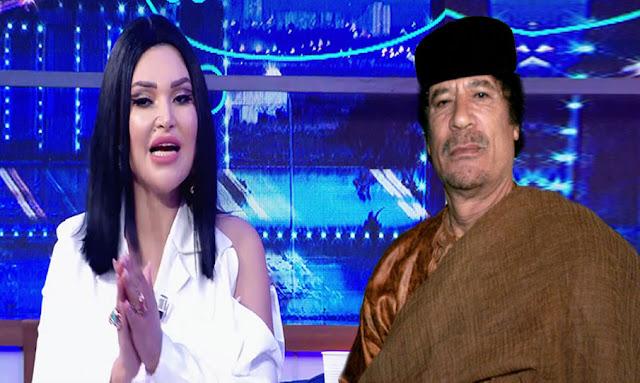 وفر لها طائرة خاصة..نجلاء التونسية تكشف أسرار جديدة عن علاقتها بالقذافي