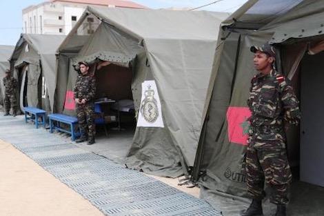 المغرب ـ الملك يمد يد العون إلى لبنان .. مستشفى عسكري ببيروت