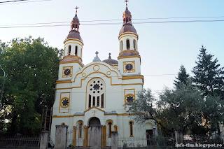 Biserica Ortodoxă din Prinţul Turcesc din Timisoara - renovata iulie 2016