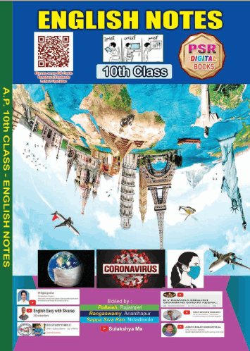 10th Class new syllabus English Note book