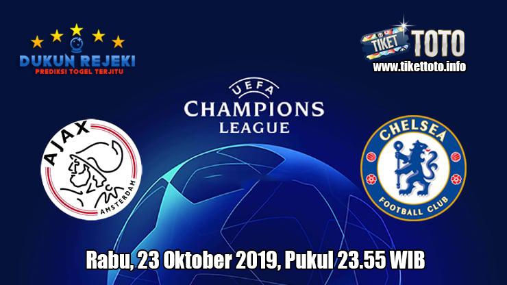 Prediksi Champions League Ajax VS Chelsea 23 Oktober 2019