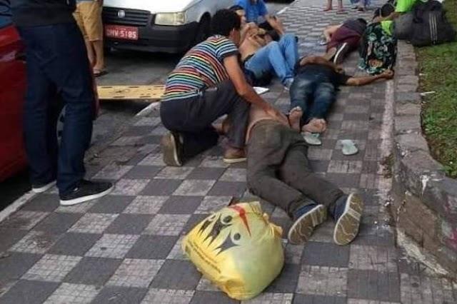 Envenenamento pode ter matado quatro moradores de rua.