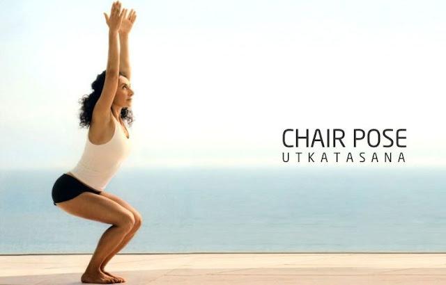 Tứ thế ngồi ghế ( Bài tập yoga Utkatasana )