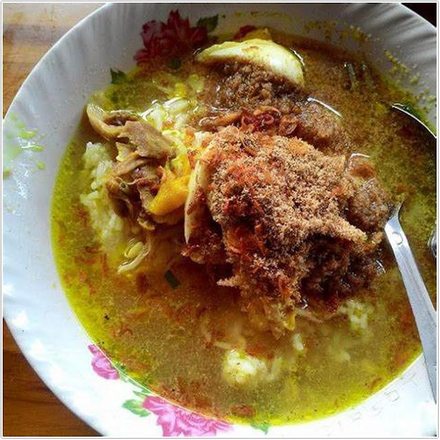 Soto ayam Kraksaan ;10 Top Kuliner Probolinggo