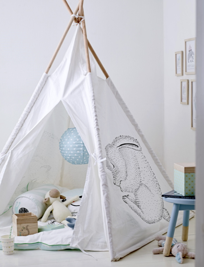 teepee from MINI Bloomingville Danish design for children