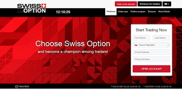 [Лохотрон] Платформа Spot-Option, Swiss-Option Отзывы, развод!