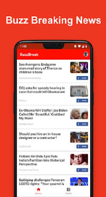Aplikasi BuzzBreak News
