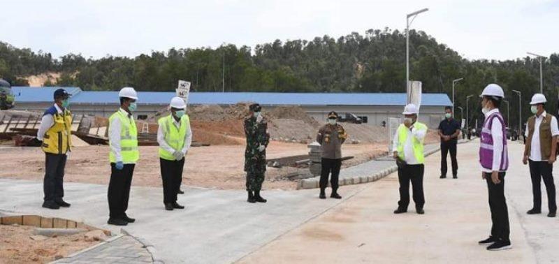 Jokowi Targetkan April Fasilitas Observasi Covid-19 Galang Beroperasi