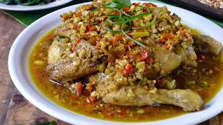 Resep Ayam Betutu Kuah Khas Bali, enak dan Bikin Nagih