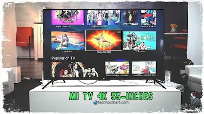 mi tv 4 55 inches android tv updates
