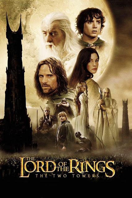 Portada El Señor de los Anillos - Las dos torres