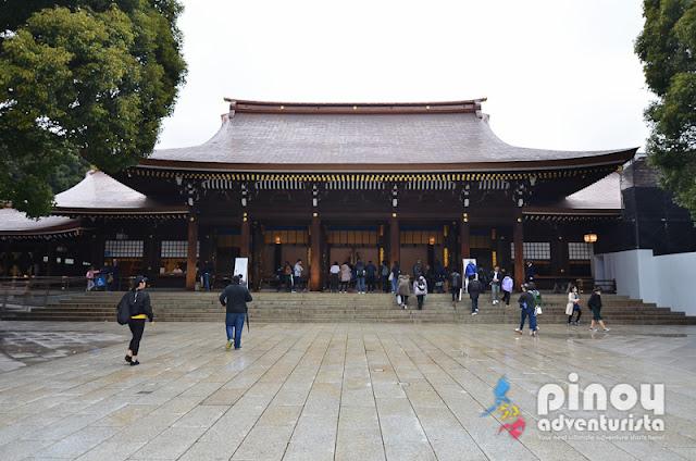 MEIJI shrine in Tokyo Tourist Spots Japan
