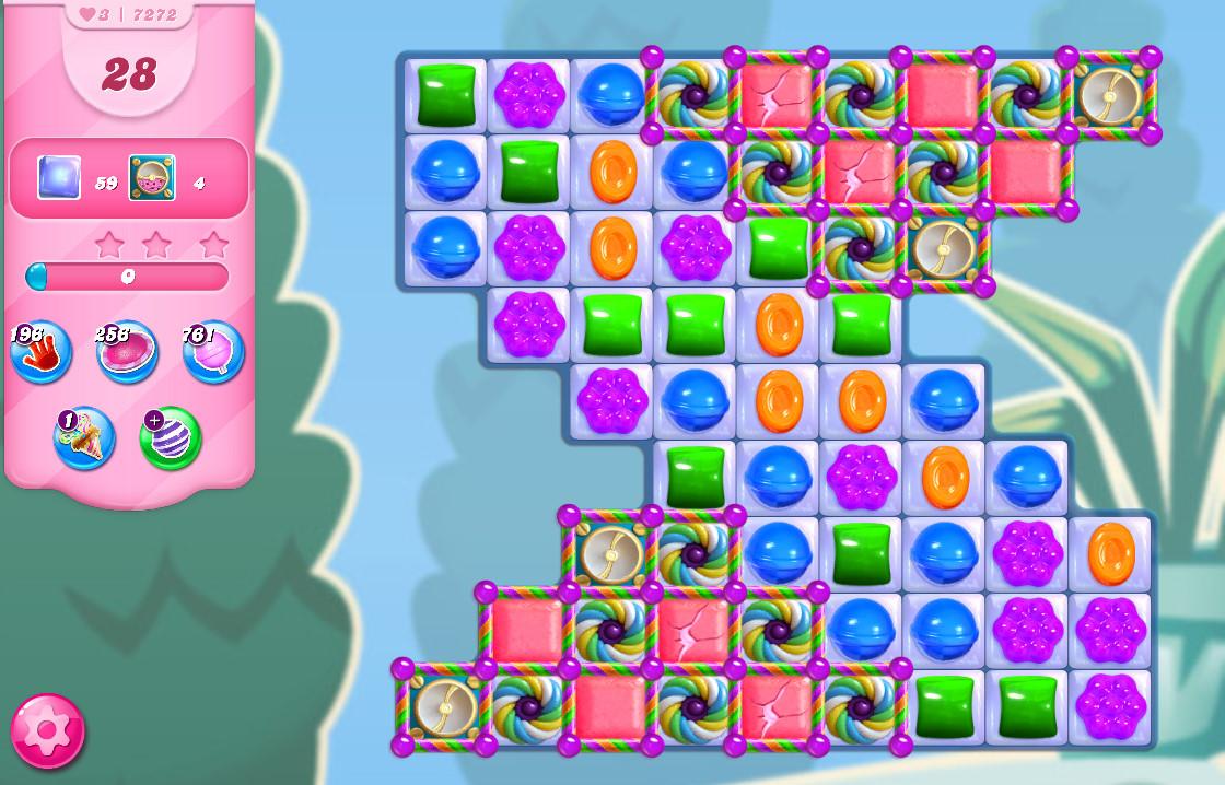 Candy Crush Saga level 7272