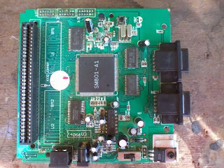 placa electrónica de consola de video juego Sega Génesis 3