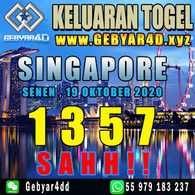 KELUARAN SINGAPORE, 19 OKTOBER 2020