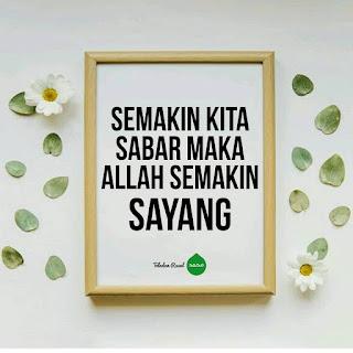 kata bijak islam tentang sabar