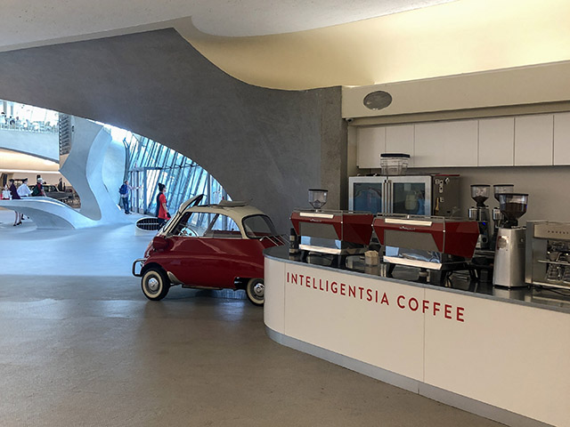 TWA Hotel JFK NYC Intelligentsia Coffee