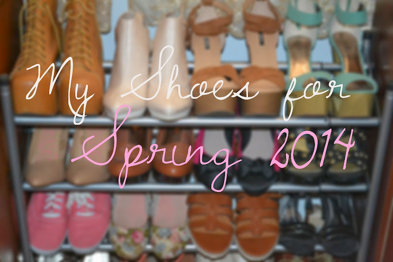 LOOKBOOK | My Shoes for Spring 2014