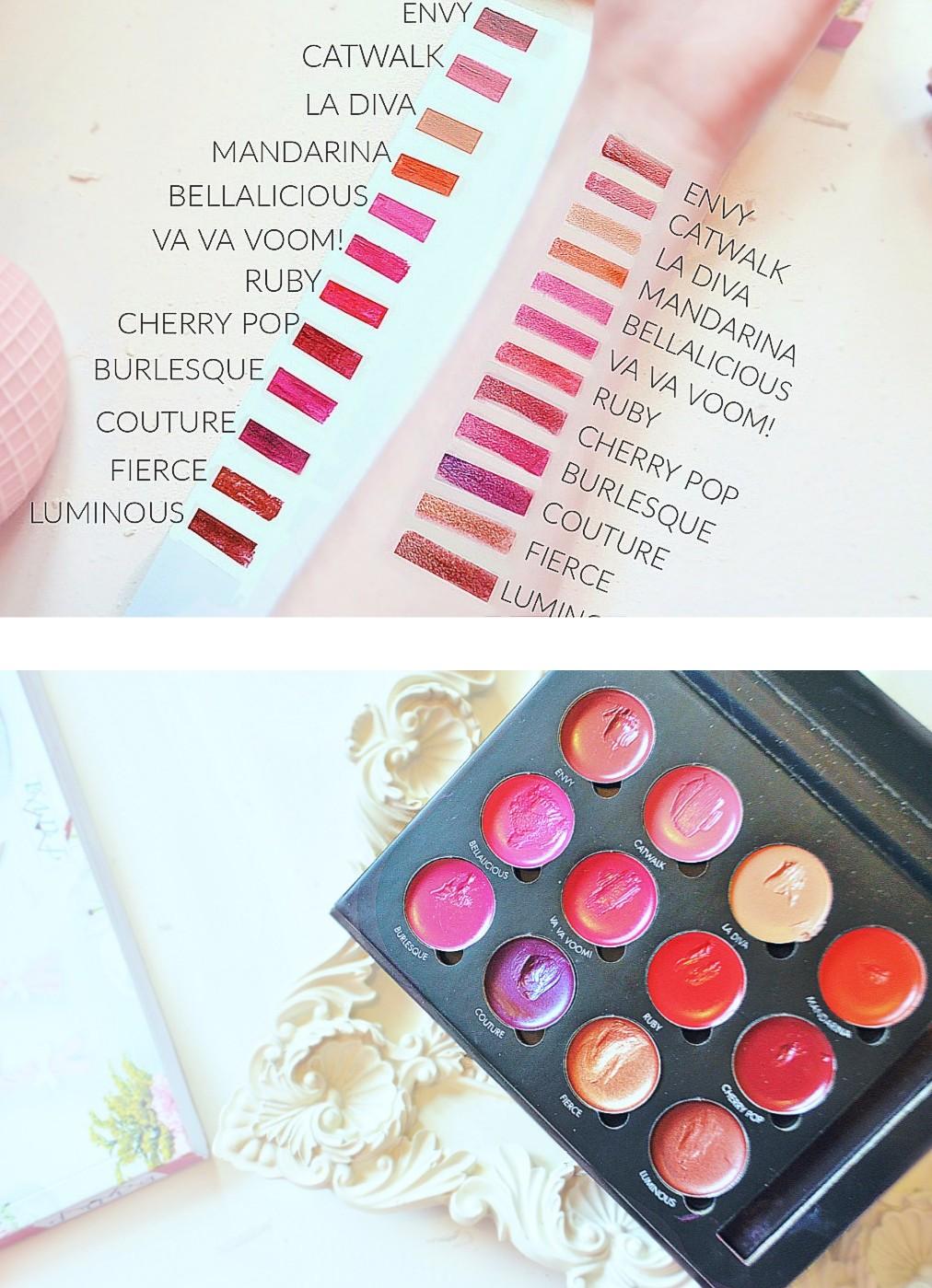 12 Color Pro Lip Palette by Bellapierre #3