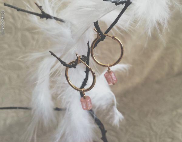 Hokee Paris boucles d'oreilles Lucy de la Collection Déesses des Cieux