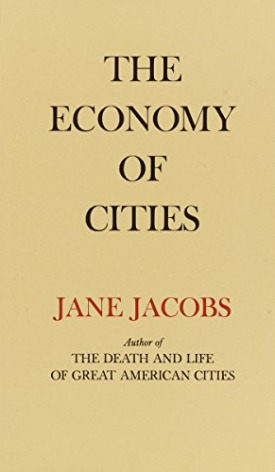 Livro: The economy of cities / Autora: Jane Jacobs