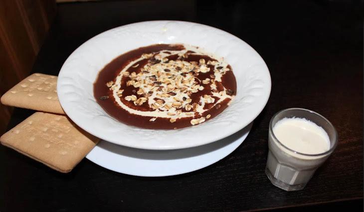 Čokoládová polievka