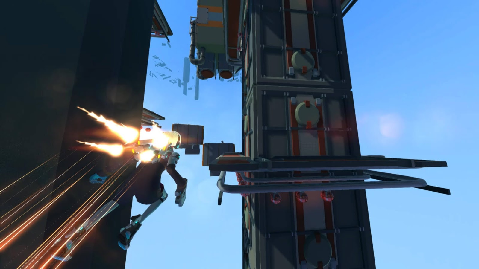 Sky Tracers Is A Sci-Fi Multiplayer Parkour Focused Game From The Creators Of Cloudbuilt