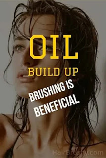Oil build up if you don't brush