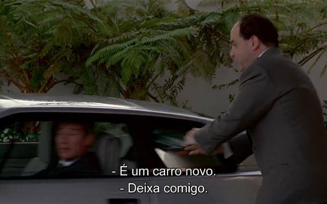 Edward pega o carro de seu advogado