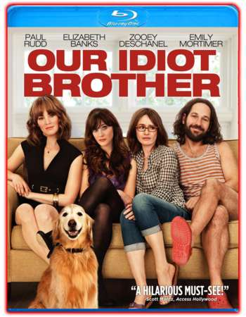 Poster Of Our Idiot Brother 2011 English 300MB BRRip 480p ESubs Free Download Watch Online