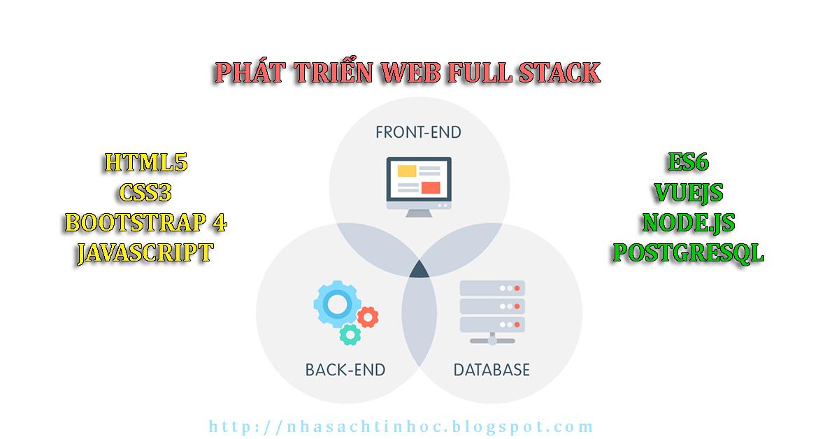 Nhà Sách Tin Học: Chia Sẻ Khóa Học Full Stack Web Development ...