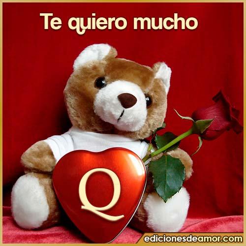 te quiero mucho Q