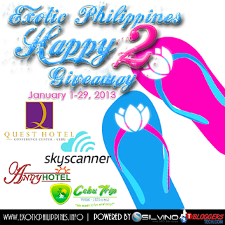 Exotic Philippines Happy 2 Giveaway