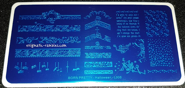 Review-Stamping-Plate-Born-Pretty-Store-Halloween-L008-#47278
