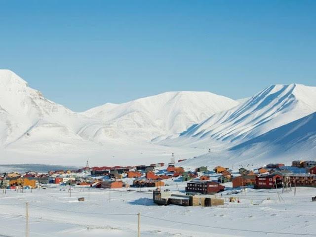 مدينة لونجييربن Longyearbyen النرويج من اغرب الاماكن السياحيه