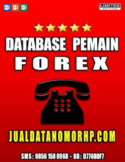 Jual Database Pemain Forex, Nikei, Gold, Hangseng