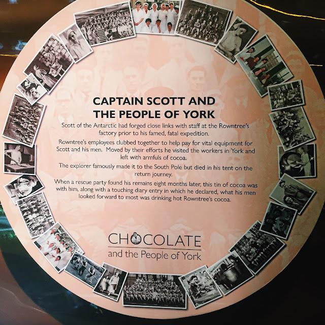 York Chocolate Story Tour cocoa tin details