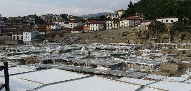 Euskadi amb autocaravana. Vista d'Añana