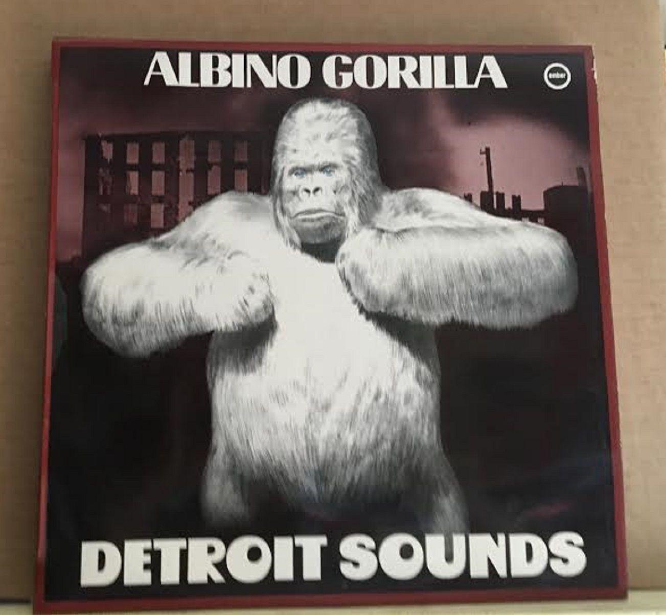 Albino Gorilla Detroit 1984