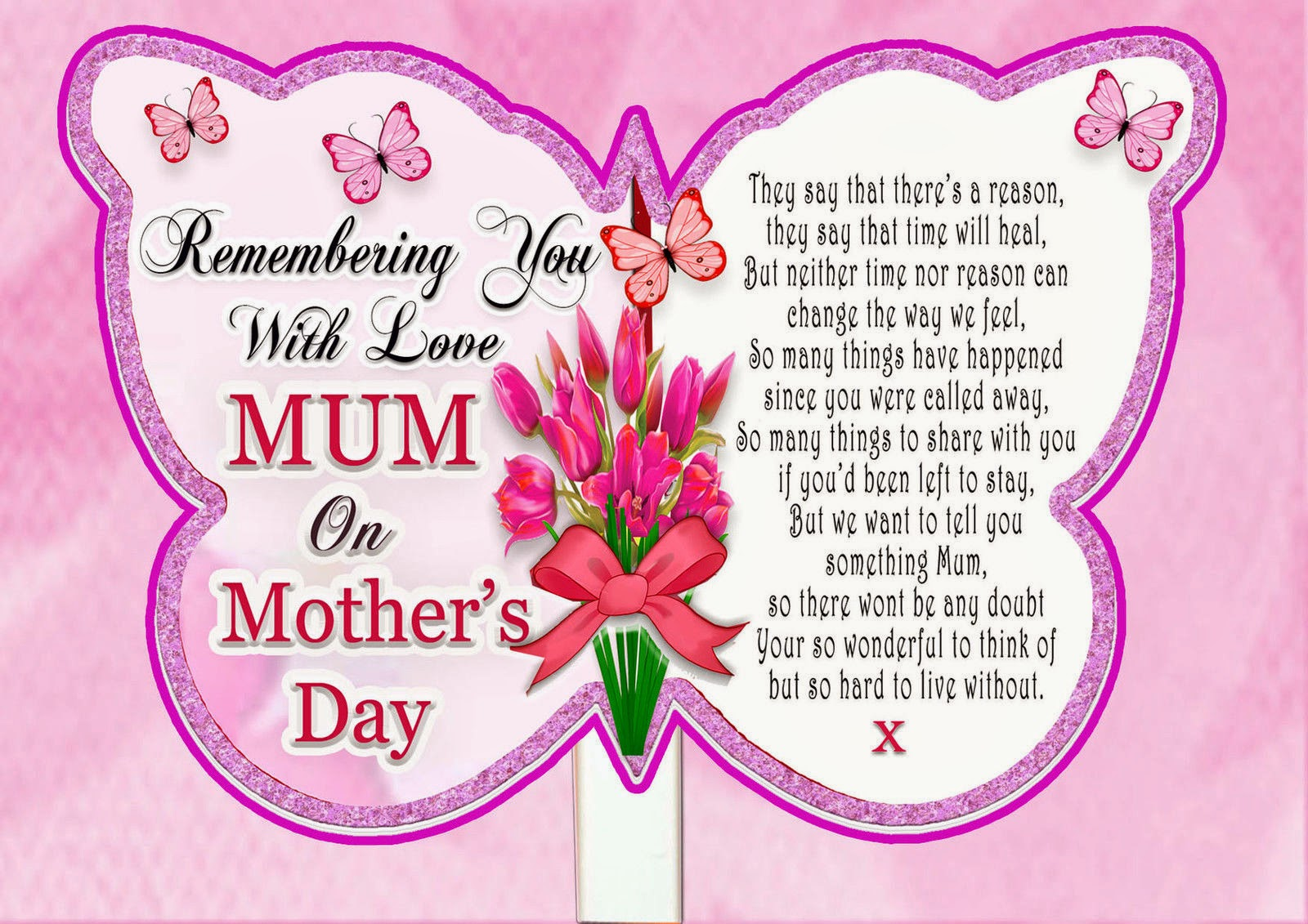 Happy Mothers Day 2014 Card Ideas: Betty Boops Card Making Place: Happy Mother's Day Mum